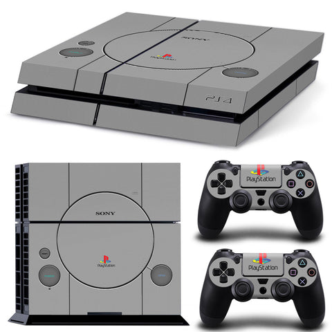Classic Playstation Sticker Set for PS4