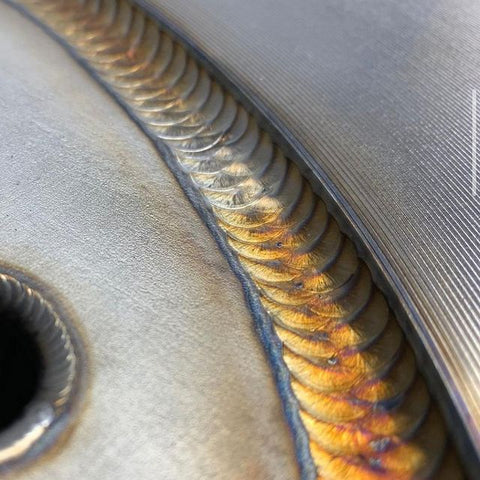 A perfect aluminum TIG weld