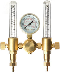 This dual output argon regulator and flow meter is a high quality option from SPARC