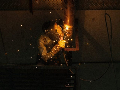 The horizontal position is a more difficult work angle in welding