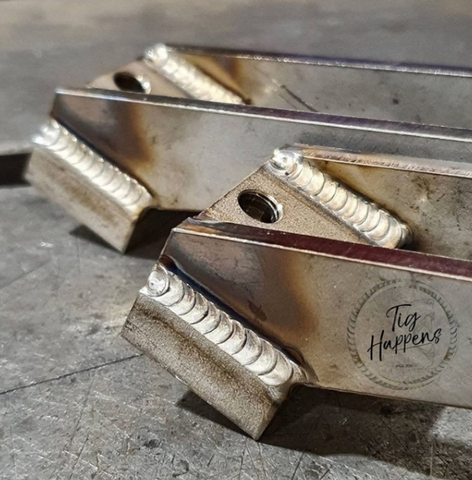 Patience and a short arc will result in excellent TIG welds