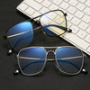 Classic Unisex Computer Glasses Protection Anti blue Light Reading Eyeglasses  Aluminum Magnesium