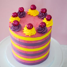 Making the perfect Striped Cake LIVE Masterclass with Chahrazad (Coming Back Soon)