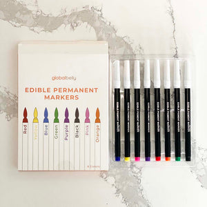 Edible Color Markers (set of 8)
