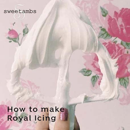 Lesson 1 - How to Make Royal Icing by Amber Spiegel (Video Tutorial)