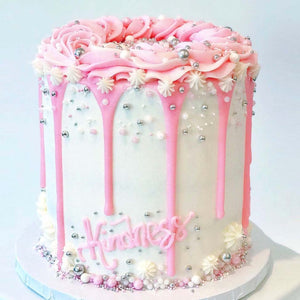 Pink Kindness Cake by Eat Me Sweets