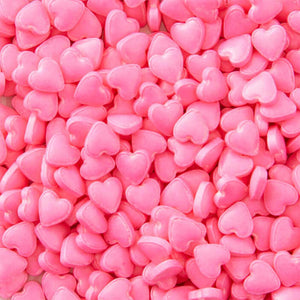 Wilton pink heart sprinkles 1.1oz