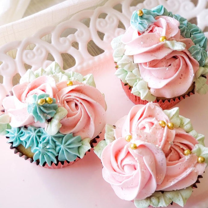 Spring Easter Cupcakes Supplies & Tutorial by Sugardust & Sprinkles