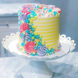 Cake Basics 101 LIVE Online Class with Alex Reel from Eat Me Sweets (Coming Back Soon!)