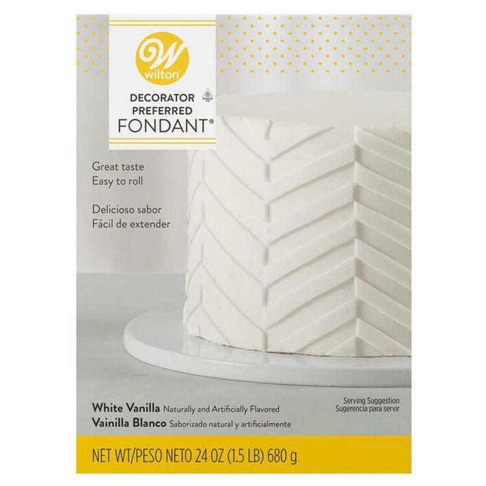 Wilton white fondant 24oz