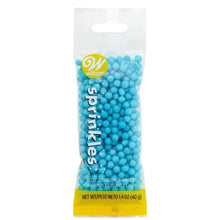 Wilton blue nonpareils 1.4oz