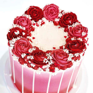 Ombre Roses Cake Supplies by Eat Me Sweets