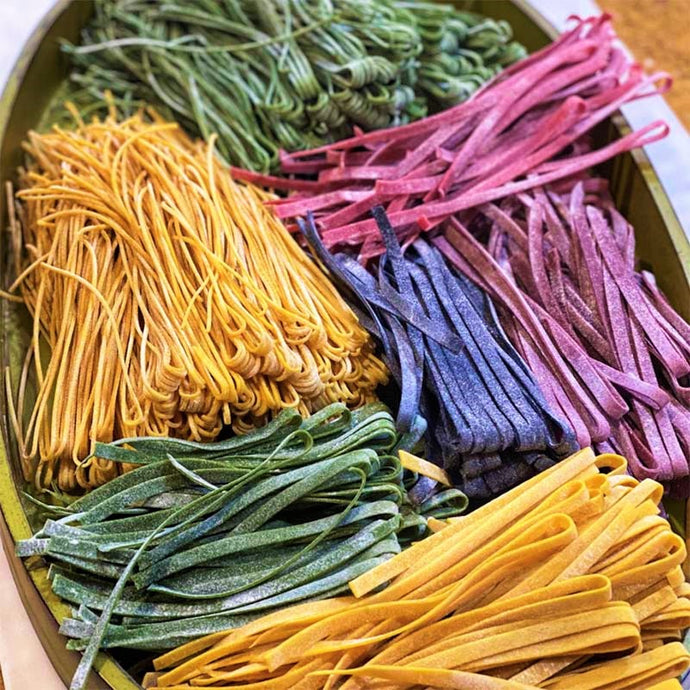 Color Pasta Making for Beginners LIVE Class with Fiona (Saturday, March 6th)