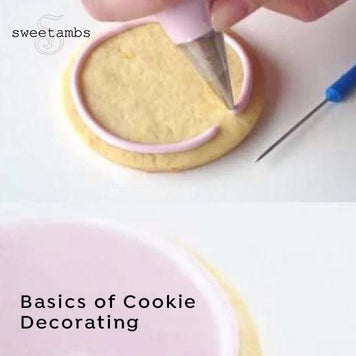 Basics of Cookie Decorating by Amber Spiegel (Pre-recorded Classes)