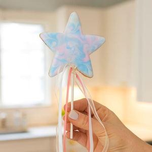 Unicorn and Star Cookie Pops Kit by The Painted Pastry (24 cookies)
