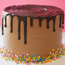 Chocolate Drip Birthday Cake Supplies and Tutorial by Chahrazad's Cuisine