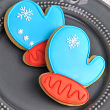 Simple Royal Icing Christmas Cookies Supplies and Tutorial by Haniela's