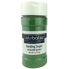 Emerald Green Sanding Sugar (4oz)