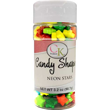 Candy Shapes Neon Stars