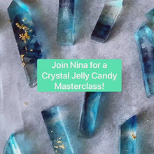 Edible Crystal Jelly Candy LIVE Masterclass with Nina @ Sophia Mya Cupcakes (Coming Back Soon!)