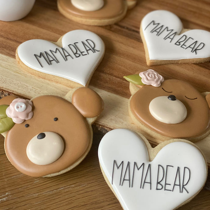 Mama Bear Cookies Class Supplies by The Painted Pastry