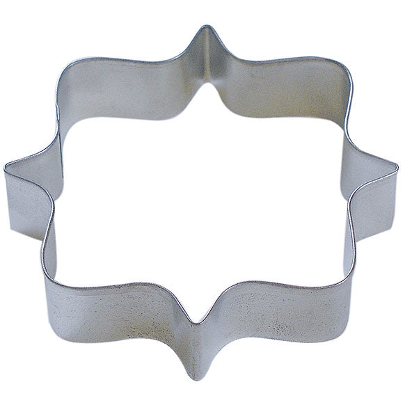 Square Plaque Frame Tin Cookie Cutter 4.25
