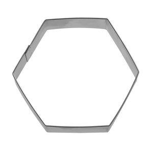 Hexagon Cookie Cutter 3 in