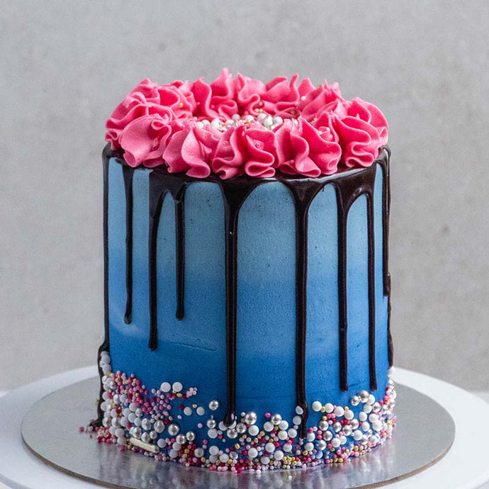 Ombre Drip Cake LIVE Masterclass with Rosie's Dessert Spot  (Saturday, August 29th, at 8pm EST / Sunday, August 30th at 10am AEDT)