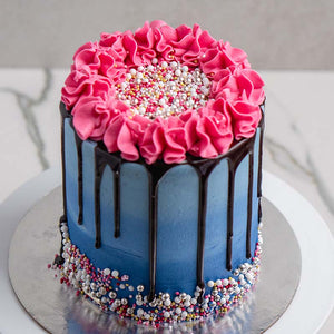 Ombre Drip Cake LIVE Masterclass with Rosie's Dessert Spot  (Friday, October 9th, at 7pm EST)