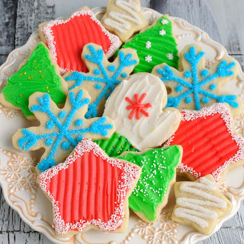 Christmas Buttercream Cookie Supplies and Tutorial by Haniela's