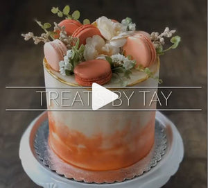 Fall Cake Supplies and Tutorial by Treats by Tay (Coming Soon)