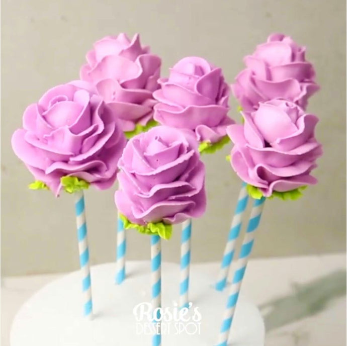 Floral Cake Pops Supplies and Tutorial by Rosie's Dessert Spot