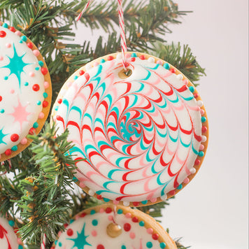 Edible Christmas Cookie Ornament Supplies by SweetAmbs