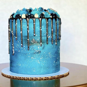 Galaxy Cake Supplies & Tutorial by Buttercream Lane Cakes