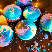 NYE Galaxy Macarons Supplies and Tutorials by Sugardust and Sprinkles