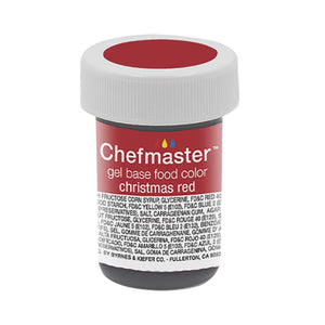 Chefmaster Chistmas Red Concentrated Gel