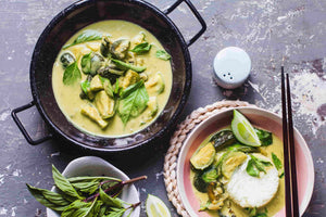 Thai Green Curry (serves 2)
