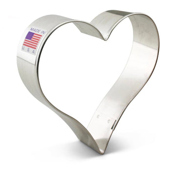 Heart Cookie Cutter 3 5/8""