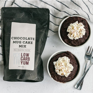 Keto Chocolate Mug Cake Mix by Low Carb Yum