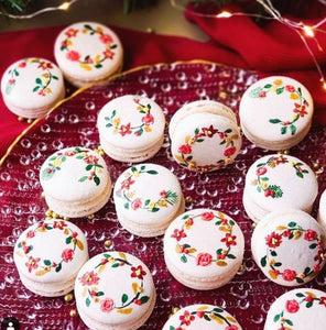 Wreath Macarons Supplies and Tutorials by Sugardust and Sprinkles