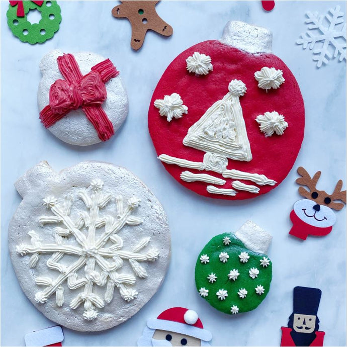 Stuffed Chocolate Holiday Ornaments Supplies and Tutorial by Wendy Kou