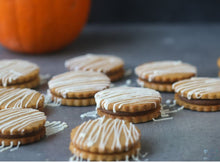 Spiced Latte Sandwich Cookies Supplies and Tutorial by Milk and Cardamom