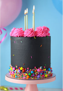 Black Glam Birthday Cake Kit by Sheri Wilson