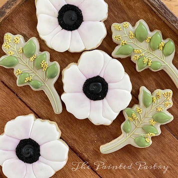 Elegant Floral Cookies Class Supplies by The Painted Pastry