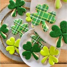 Shamrock Cookie Kit by The Painted Pastry (makes 15-18 large cookies)