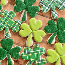 Lucky Shamrock Cookies with The Painted Pastry (Pre-recorded Class)