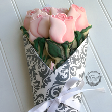 Rose Bouquet Cookies Supplies by The Floured Canvas