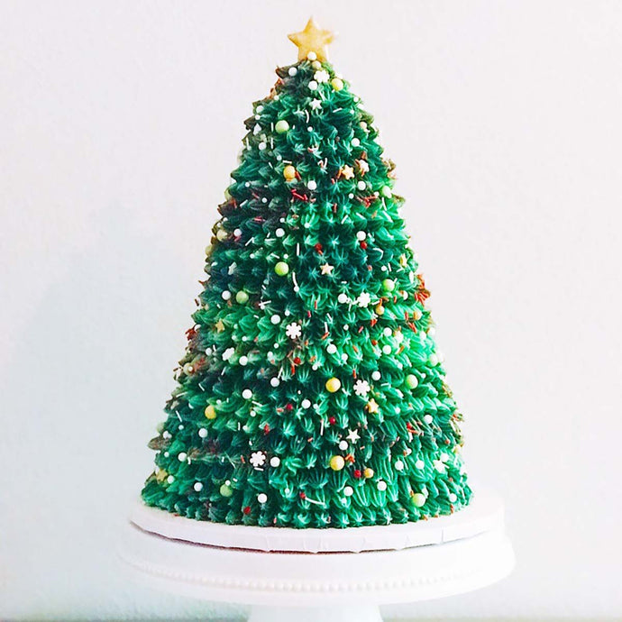Oh Christmas Tree! Cake Supplies and Tutorial by Eat Me Sweets