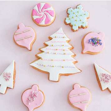 Christmas Sugar Cookie Decoration Supplies and Tutorial by Chahrazad's Cuisine