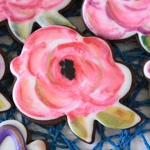 3 Rose Cookie Supplies & Tutorial by LilaLoa's